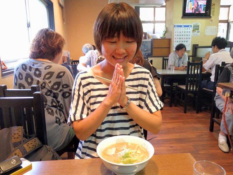 三八斎田店 ラーメン女子1