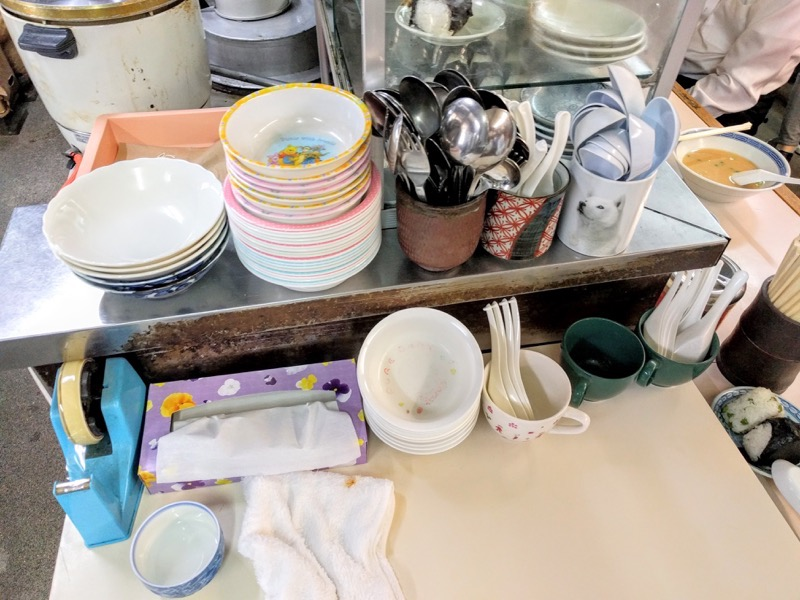 沖食堂 お皿
