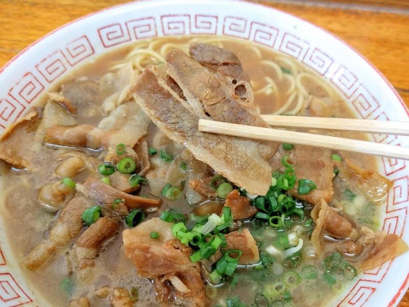 中華そば末広 豚バラ肉