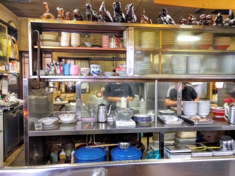 ふくちゃんラーメン 厨房