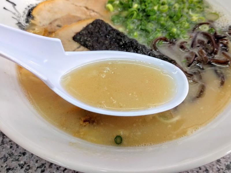 大龍ラーメン合川店 スープ