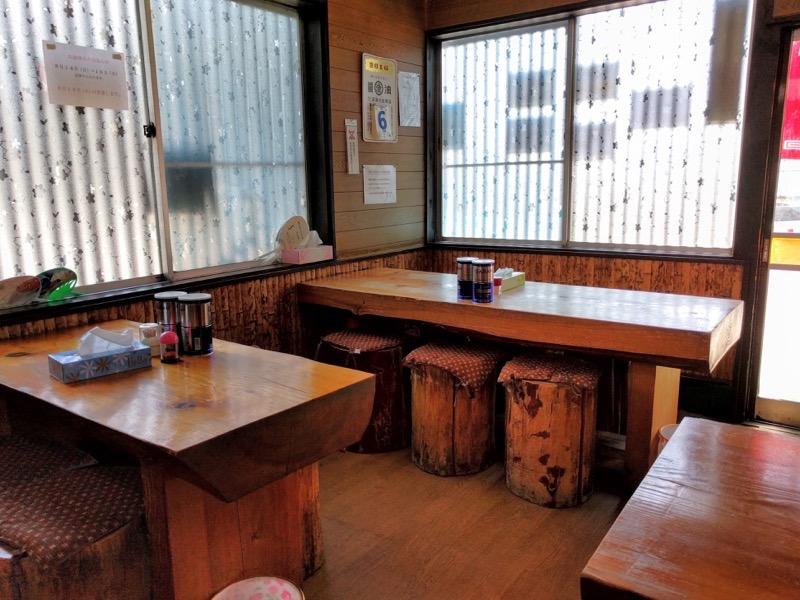 吉野屋 テーブル席