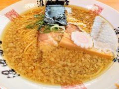 麺組-こってり醤油ラーメン