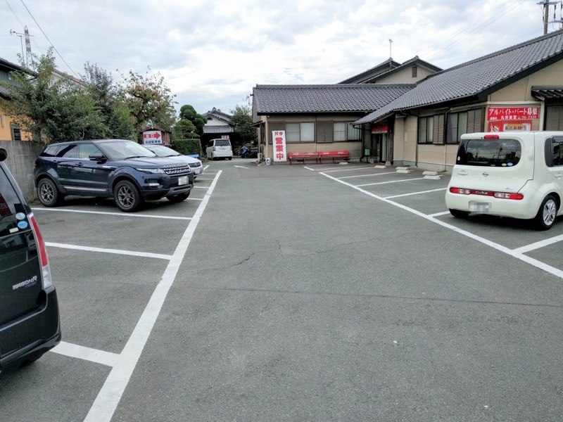 丸好食堂 駐車場2
