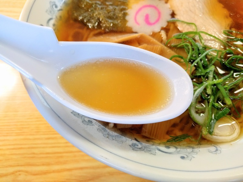 東部食堂 スープ