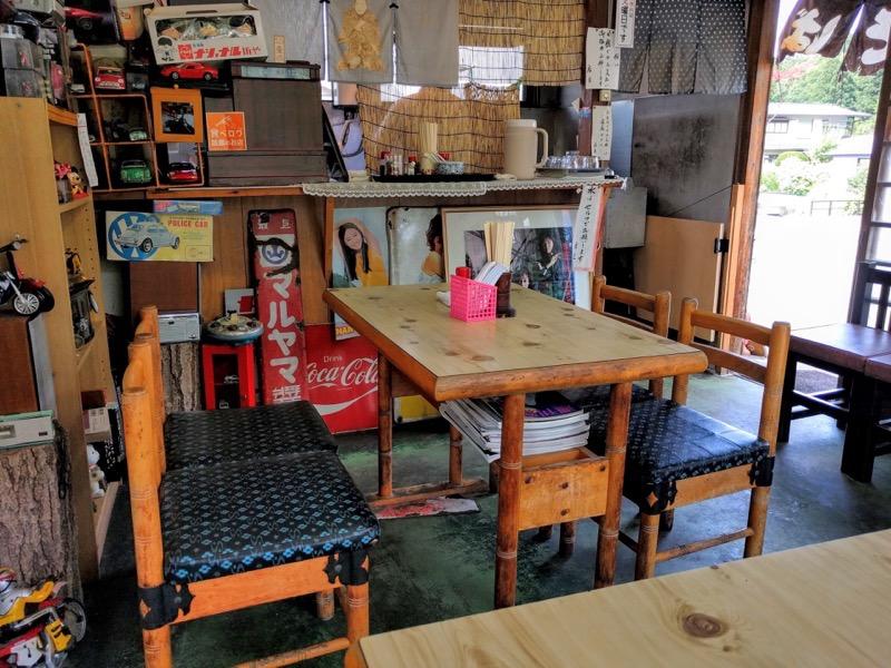 八幡屋 テーブル席