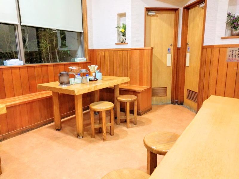 まるさん テーブル席1