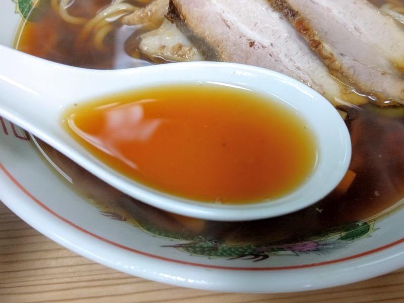 長尾中華そば青森駅前店 スープ