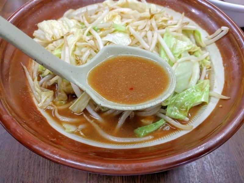 東横笹口店 スープ