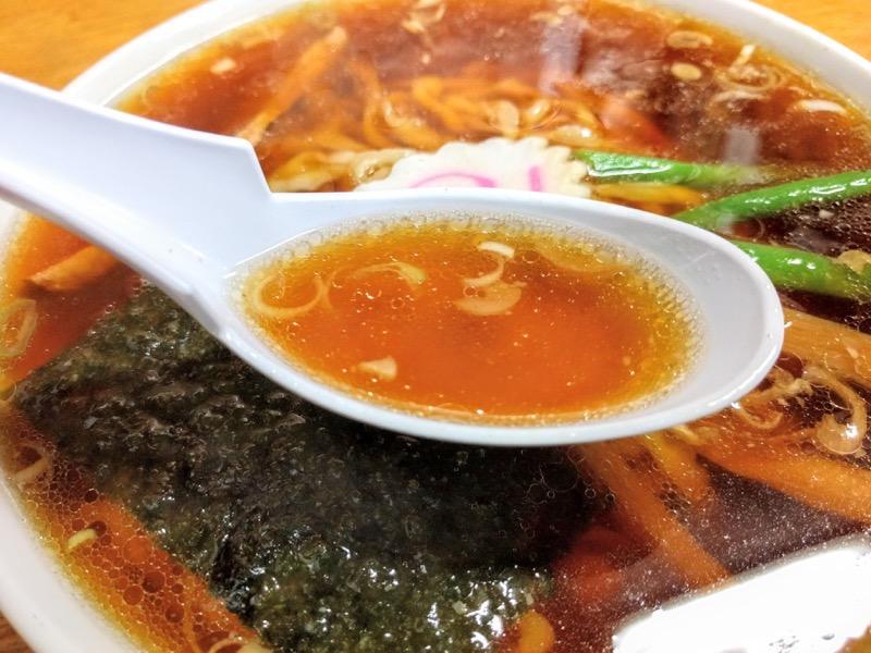 茶釜本店 スープ