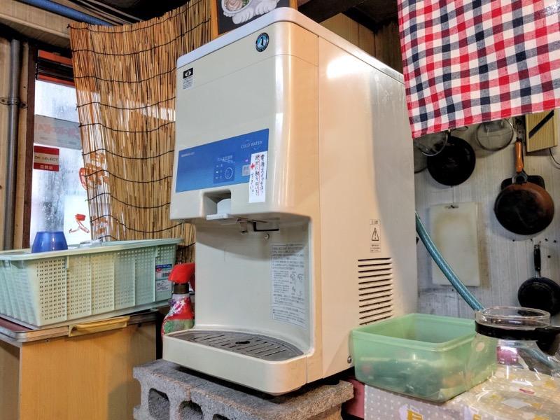 桂仙ラーメン 給水機