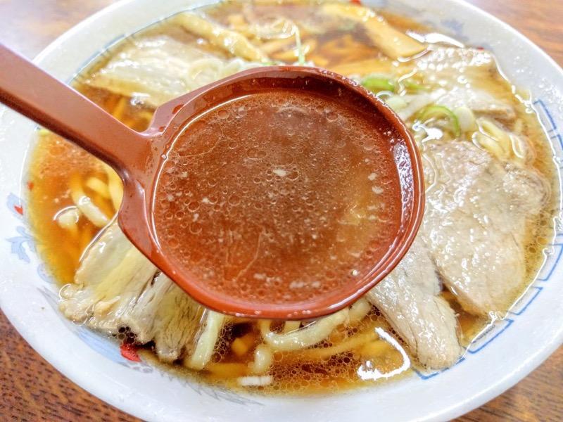あべ食堂 スープ