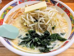 味の札幌浅利-味噌カレー牛乳ラーメン