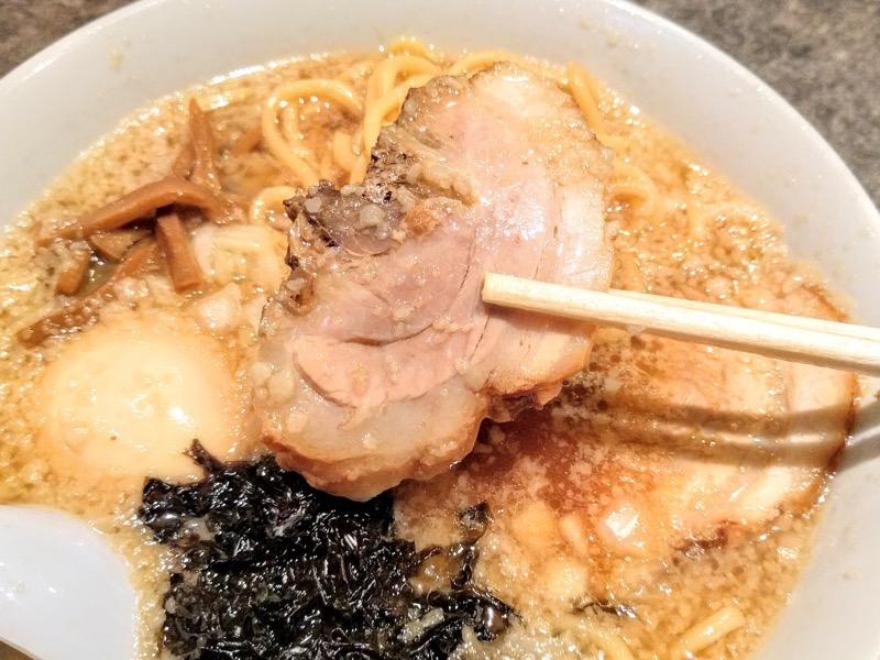 酒麺亭潤 チャーシュー