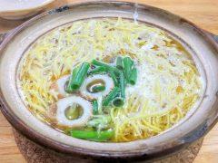 橋本食堂−鍋やきラーメン
