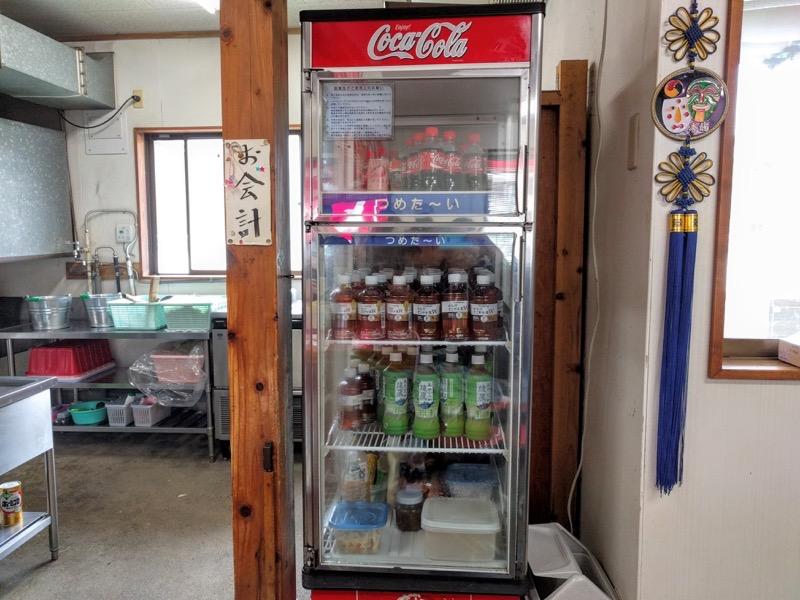安全食堂 冷蔵庫