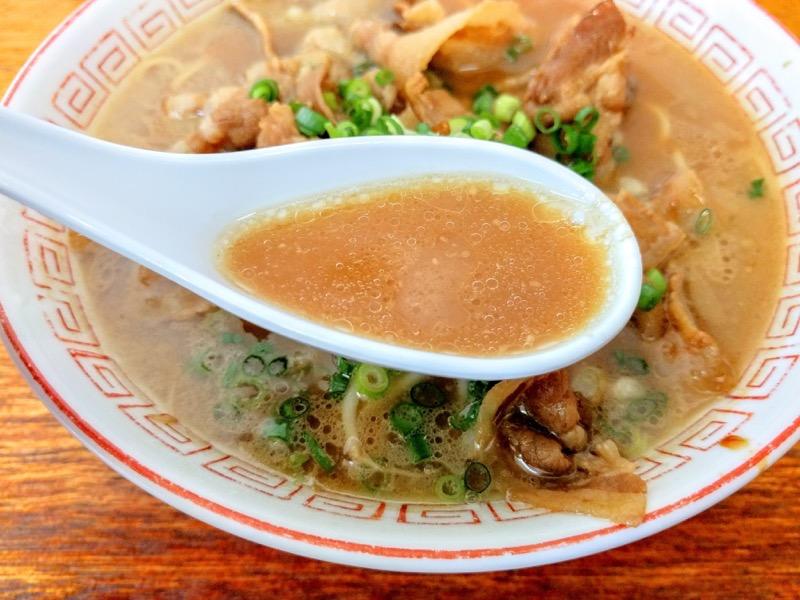 中華そば末広 スープ