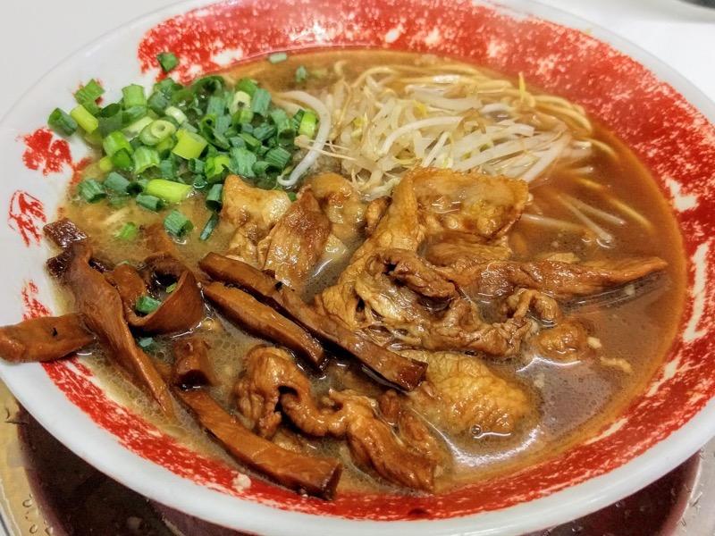 東大本店 徳島ラーメン肉増し