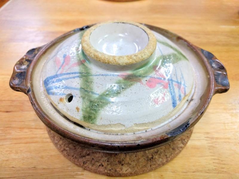 橋本食堂 なべ焼きラーメンふた付き