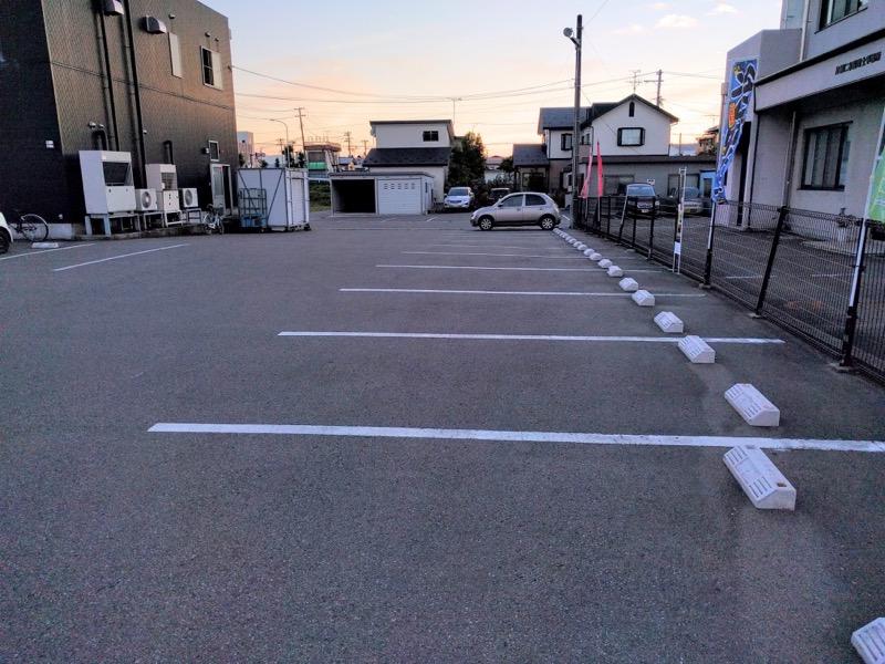 来夢 駐車場