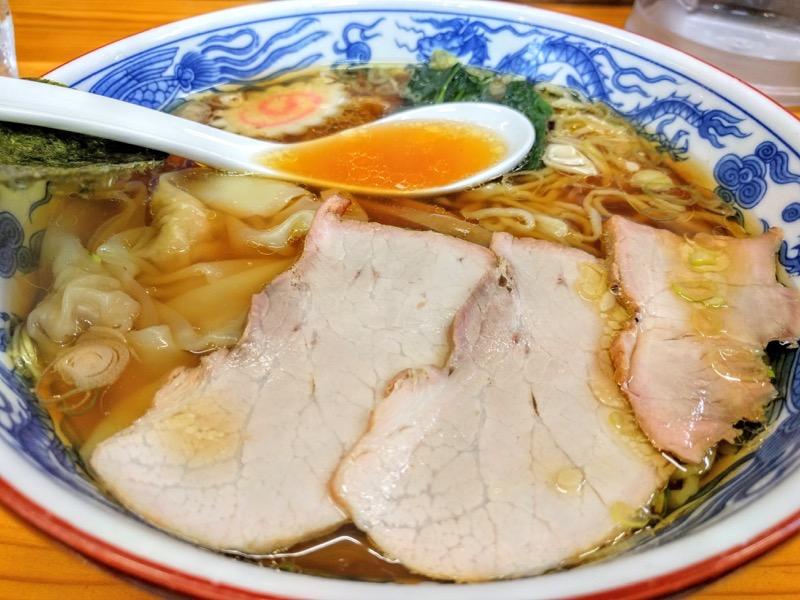 とら食堂|福島県白河市|ワンタン麺