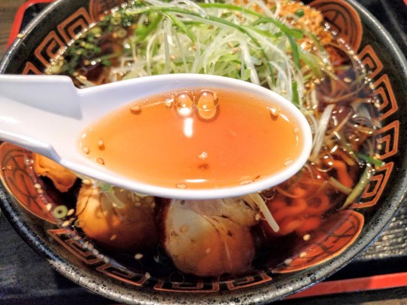 麺辰 スープ