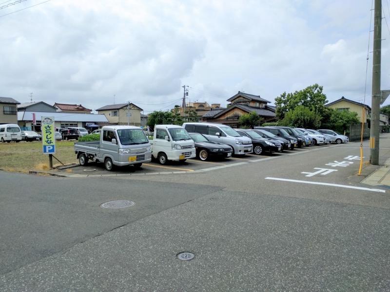 さらしな 駐車場2