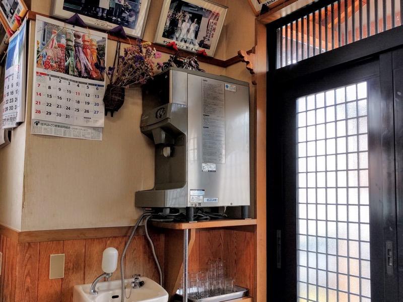 ケンちゃんラーメン酒田本店 給水機