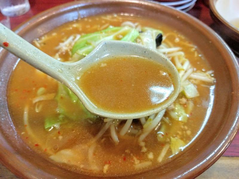 こまどり スープ
