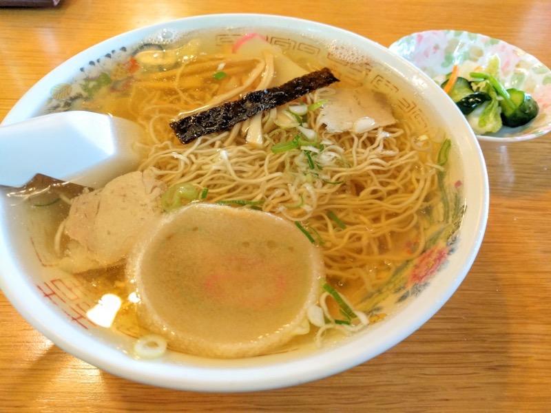 丸竹食堂 中華そばとお漬物