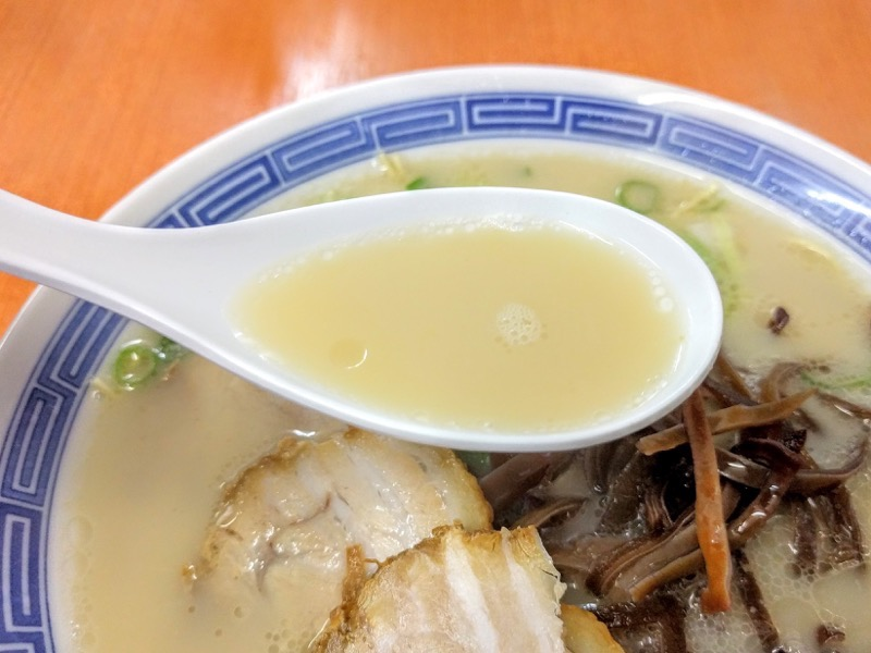 長浜ラーメン名島亭 スープ
