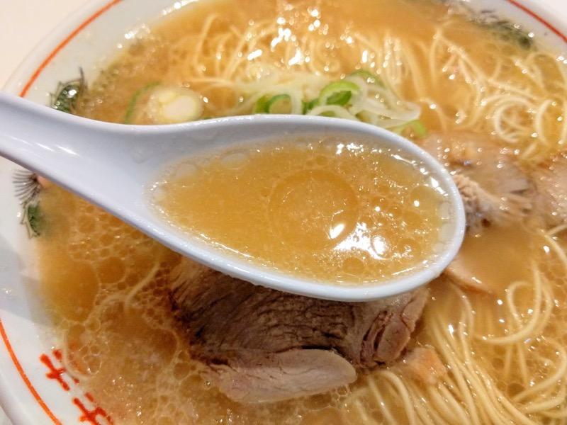 長浜ラーメン一龍亭 スープ