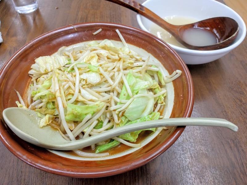 東横笹口店 野菜みそラーメン1