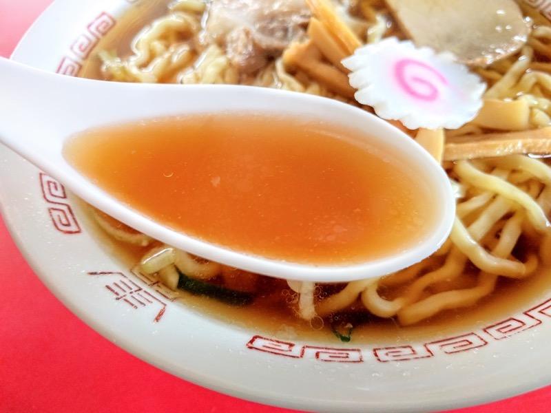 源来軒 スープ