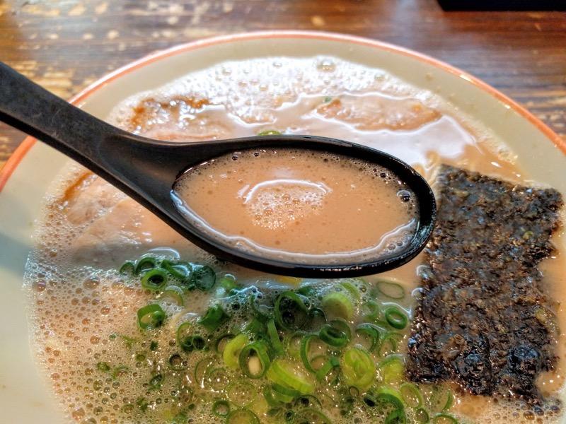 大砲ラーメン本店 スープ