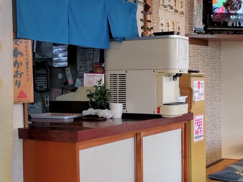 いさご食堂 給水機