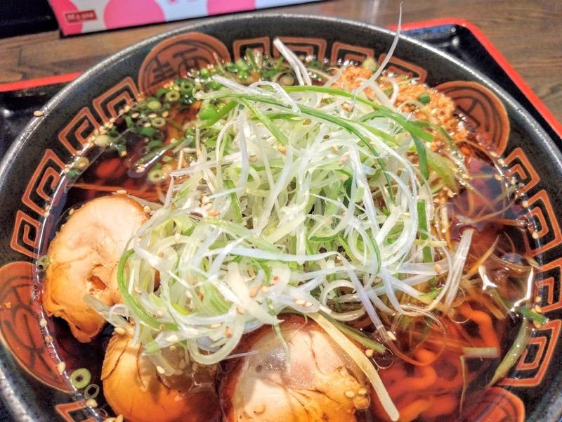 麺辰 ネギ