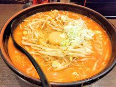 柳家フェザン店-キムチ納豆ラーメン