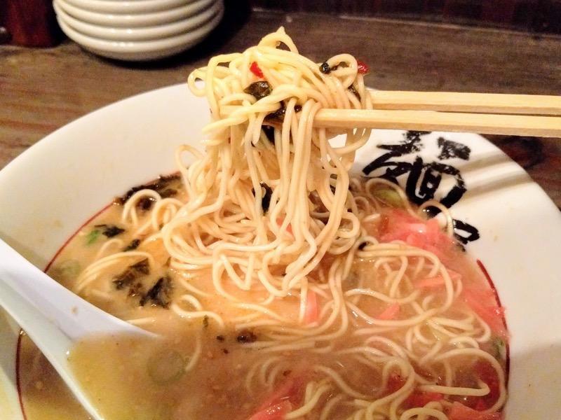 博多麺屋た組 23替玉後リフトアップ2