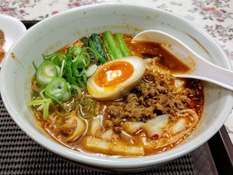 釜聖麺屋 14担々麺