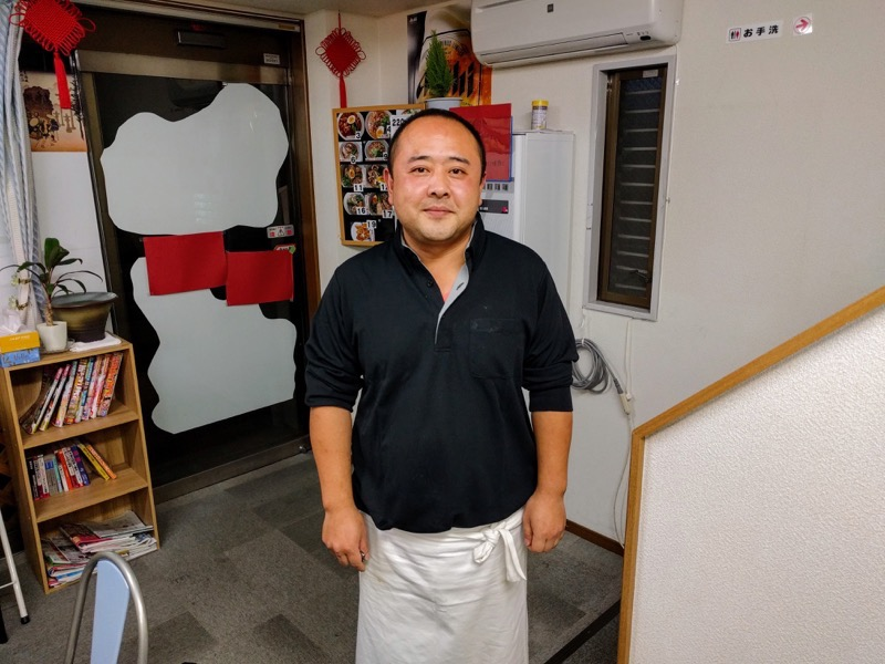 釜聖麺屋 22ご主人
