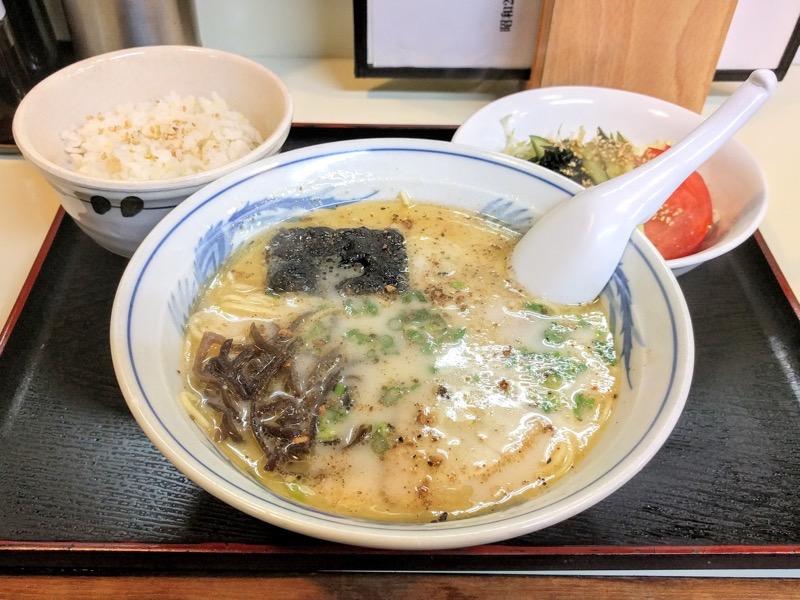 こむらさき上通中央店 19ラーメン定食