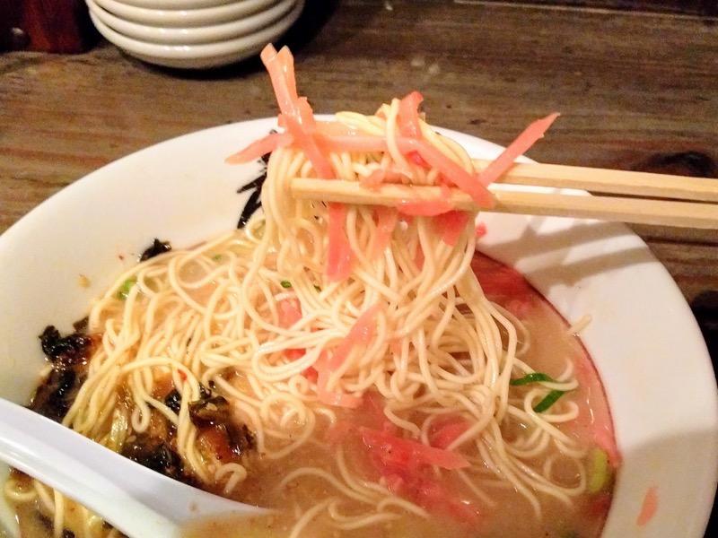 博多麺屋た組 22替玉後リフトアップ1