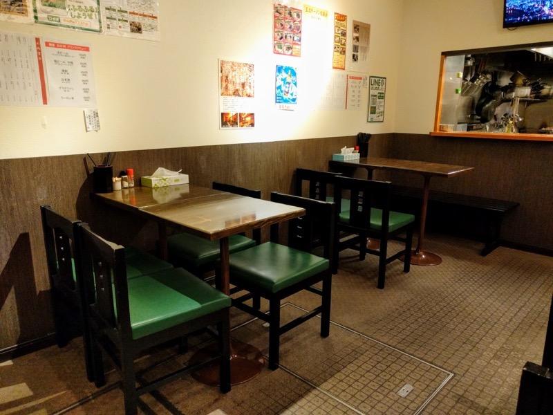 麺屋 おか田 08テーブル席2