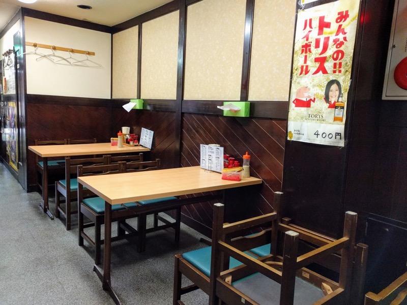 赤のれん和亭 07テーブル席