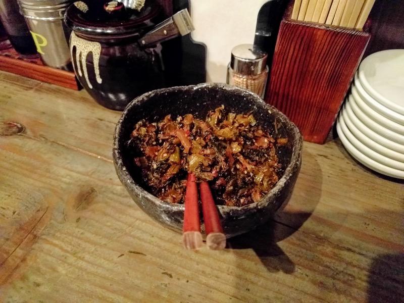 博多麺屋た組 10辛子高菜