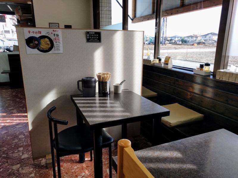 サキマサ 09テーブル席