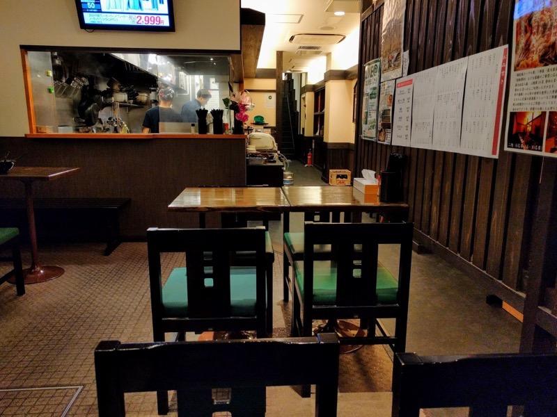 麺屋 おか田 07テーブル席1