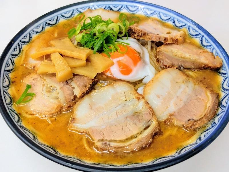 11中華そば肉玉子入小