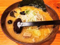 白樺山荘 真駒内本店−味噌ラーメン